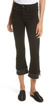 Rag & Bone Women's Raw Edge Crop Flare Jeans