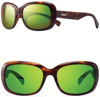 Revo Paxton 56mm Round Sunglasses