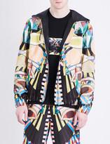 Givenchy Kaleidoscope-print hooded cotton-jersey jacket