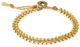 """Wakami Women's Bracelet Single Beaded - Beige (7.5"""")"""