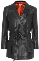 Ganni Passion leather jacket