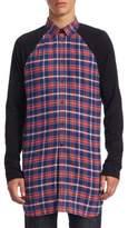 Givenchy Checkered Cotton Button-Down Shirt