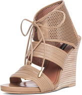 Brooklyn Sandal Wedge in Sahara