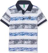 Benetton Boy's H/S Polo Shirt,(Manufacturer Size:1 Year)