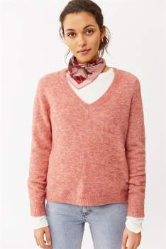 Twist&Tango - Pink Alpaca and Wool Sweater. 663431 - s | pink | Alpaca/Wool - Pink/Pink