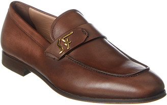 Salvatore Ferragamo Signature Leather Loafer