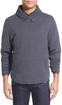 Billy Reid Barnes Shawl Collar Jersey Sweater