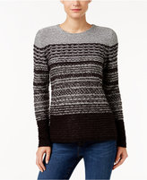 Karen Scott Striped Sweater, Only at Macy's