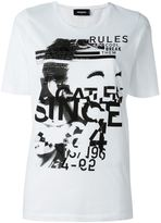 DSQUARED2 'Dyed Rules' T-shirt - women - Cotton - XS