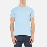 Ami Men's Heart Logo TShirt - Sky Blue