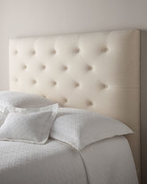 Horchow Massoud Loretta Queen Tufted Headboard