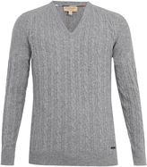 Burberry Worthing cashmere cable-knit sweater