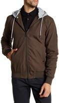 Globe Goodstock Snap-Off Hooded Bomber Jacket