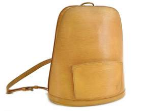 Louis Vuitton Gobelins Vintage Yellow Leather Backpacks