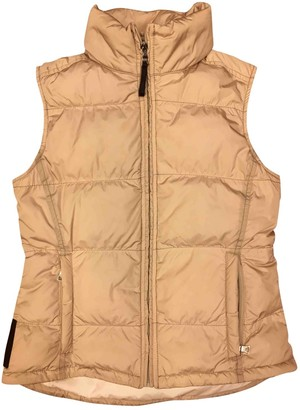 Prada Gold Synthetic Trench coats