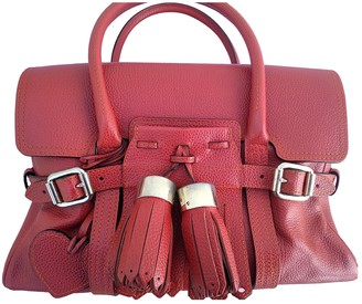 Luella Red Leather Handbags