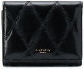 Givenchy diamond trifold wallet