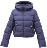 Perfect Moment Polar Flare Down-filled Ski Jacket - Womens - Navy