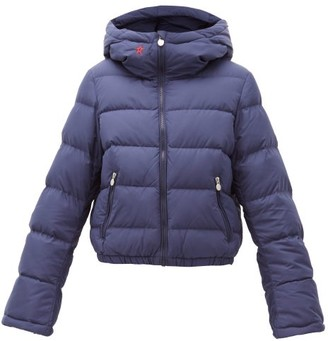 Perfect Moment Polar Flare Down Filled Ski Jacket - Womens - Navy