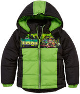 Asstd National Brand Boys Teenage Mutant Ninja Turtles Heavyweight Puffer Jacket-Preschool