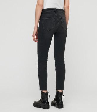 AllSaints Roxanne Cropped Skinny Jeans