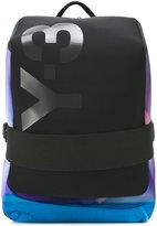 Y-3 logo strap backpack - men - Polyester - One Size