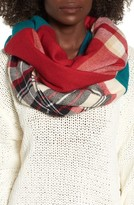 BP Junior Women's 'Heritage' Plaid Infinity Scarf