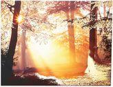 """Graham & Brown """"Metallic Forest"""" Canvas Art"""