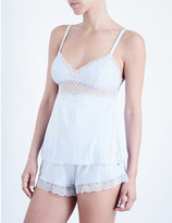 Eberjey Serena jersey and lace camisole