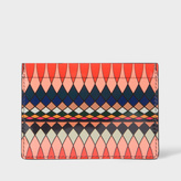 Paul Smith No.9 - Multi-Coloured Patent Leather Card Holder