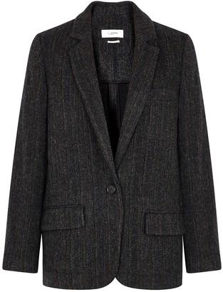 Etoile Isabel Marant Charly herringbone wool blazer
