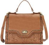 American West Women's Hidalgo Top-Handle Convertible Flap Bag