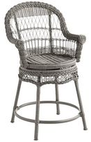 Pier 1 Imports Sunset Pier Swivel Counterstool - Gray