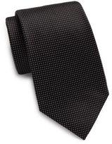 Valentino Pindot Silk Tie