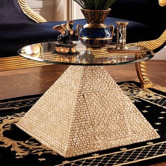 Toscano Design Great Egyptian Pyramid Coffee Table Design