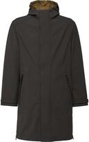 Prada hooded midi raincoat