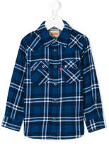 Levi's Kids checked shirt