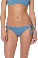 Red Carter Women's Side Tie Bikini Bottoms