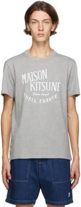 MAISON KITSUNÉ Grey Palais Royal Classic T-Shirt