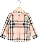 Burberry Boys' Nova Check Collared Shirt
