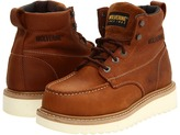 Wolverine Moc Toe Wedge Heel Steel Toe Men's Work Lace-up Boots