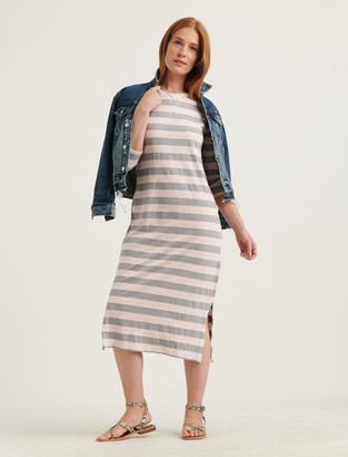Lucky Brand Garment Dyed Rugby Dress
