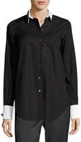No.21 No. 21 Cordova Button-Front Embellished Shirt