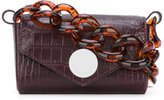 Givenchy mini flap pouch - women - Patent Leather - One Size