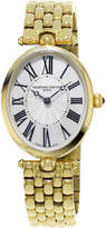 Frederique Constant 200mpw2v5b Classics Art Deco gold-plated stainless steel watch