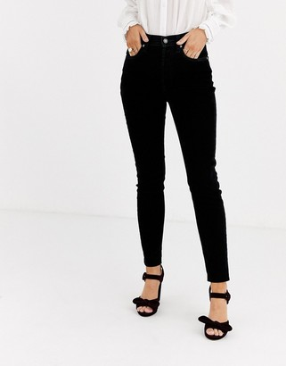 We The Free By Free People by Free People high waisted velvet skinny trouser