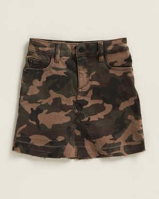 DL1961 Girls 4-6x) Jenny Camouflage Skirt