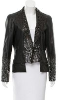 Chanel Laser Cut Leather Jacket