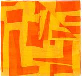Loro Piana geometric print scarf