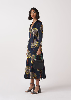 Gabrielle Silk Wrap Dress